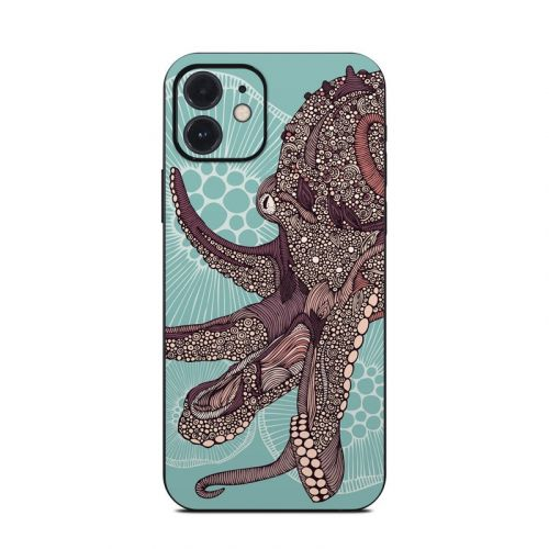 Octopus Bloom iPhone 12 Skin