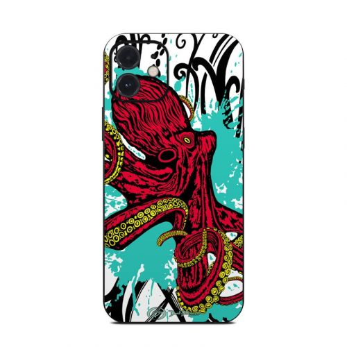 Octopus iPhone 12 Skin