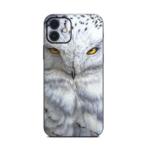 Snowy Owl iPhone 12 Skin
