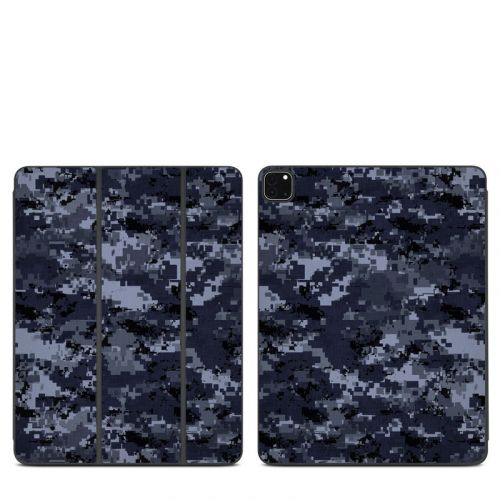Digital Navy Camo iPad Pro 12.9-inch Smart Folio Skin
