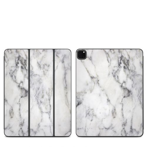 White Marble iPad Pro 12.9-inch Smart Folio Skin