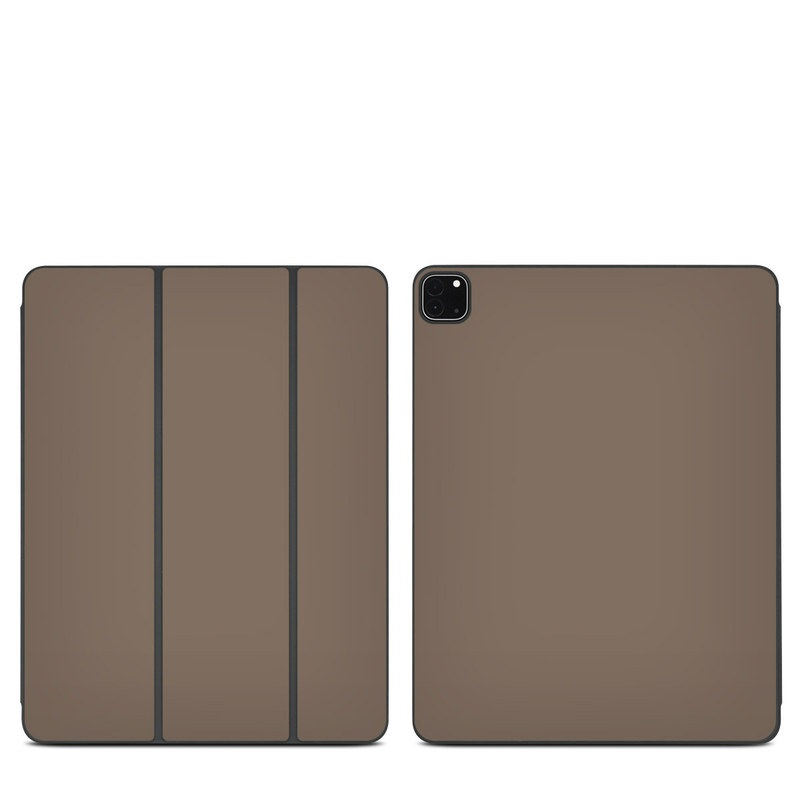 iPad Pro 12.9-inch Smart Folio Skin design of Brown, Text, Beige, Material property, Font with brown colors