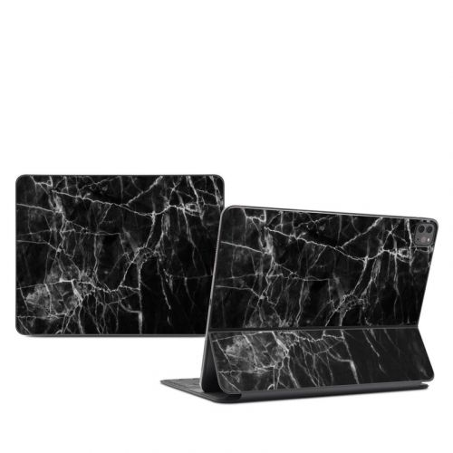 Black Marble iPad Pro 12.9-inch Smart Keyboard Folio Skin