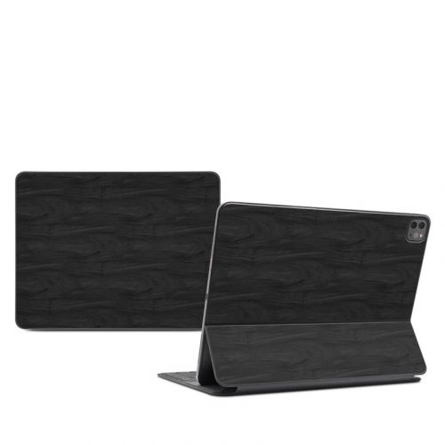 Black Woodgrain iPad Pro 12.9-inch Smart Keyboard Folio Skin