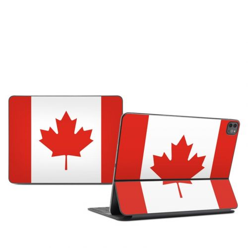 Canadian Flag iPad Pro 12.9-inch Smart Keyboard Folio Skin