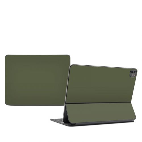 Solid State Olive Drab iPad Pro 12.9-inch Smart Keyboard Folio Skin