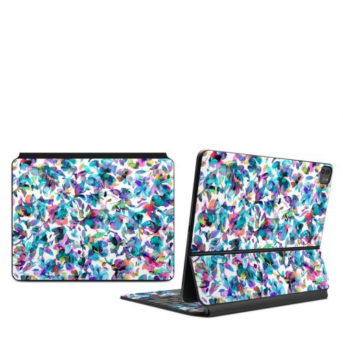 Aquatic Flowers iPad Pro 12.9-inch Magic Keyboard Skin