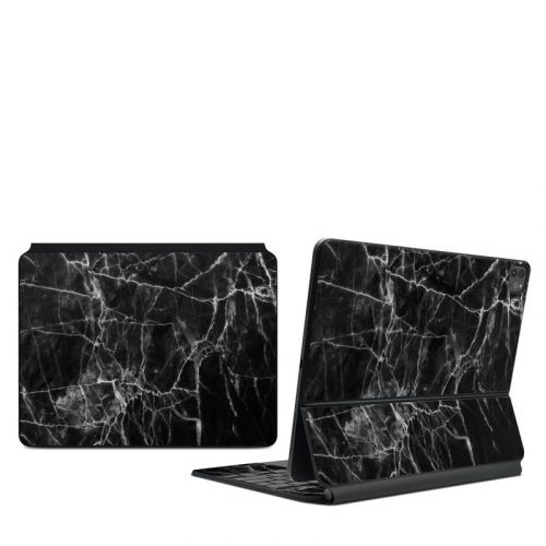 Black Marble iPad Pro 12.9-inch Magic Keyboard Skin