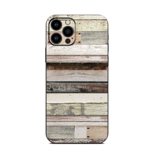 Eclectic Wood iPhone 12 Pro Skin