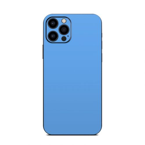 Solid State Blue iPhone 12 Pro Skin