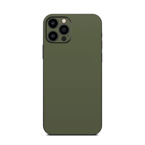 Solid State Olive Drab iPhone 12 Pro Skin
