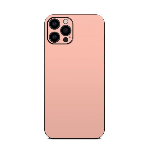 Solid State Peach iPhone 12 Pro Skin