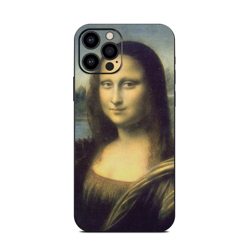 iPhone 12 Pro Skin design of Face, Painting, Lady, Portrait, Head, Nose, Beauty, Cheek, Chin, Art with black, gray, green, red, blue colors