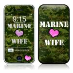 Marine Wife iPhone 3GS Skin