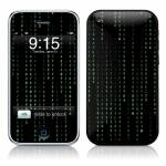 Matrix Style Code iPhone 3GS Skin