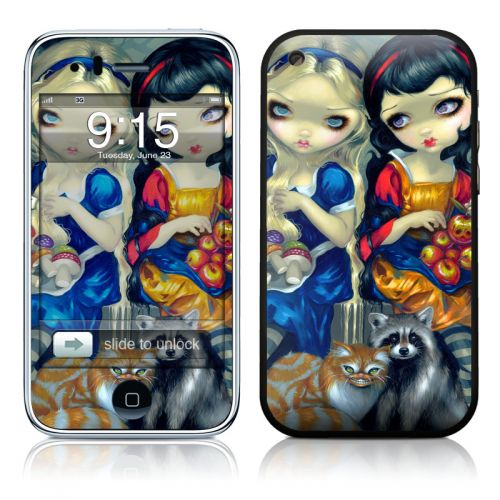 Alice & Snow White iPhone 3GS Skin