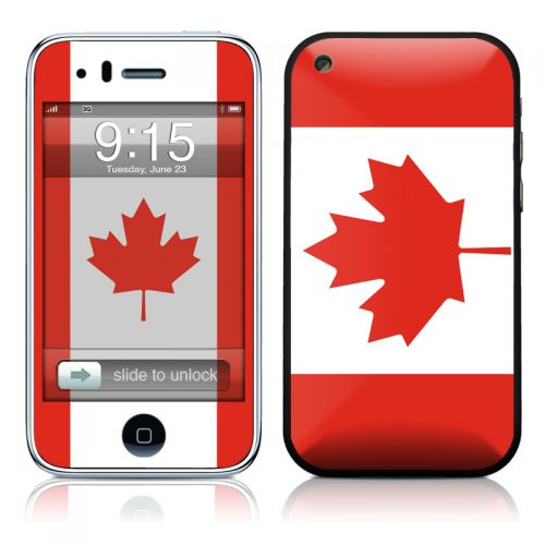 Canadian Flag iPhone 3GS Skin