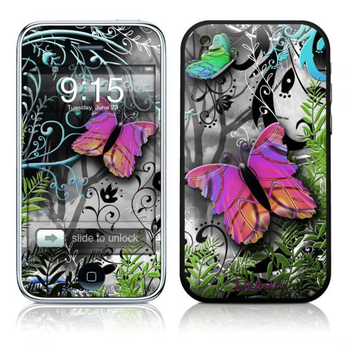 Goth Forest iPhone 3GS Skin