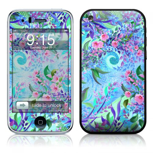 Lavender Flowers iPhone 3GS Skin