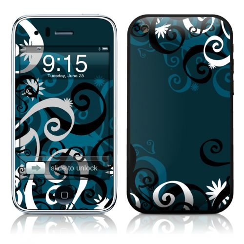 Midnight Garden iPhone 3GS Skin