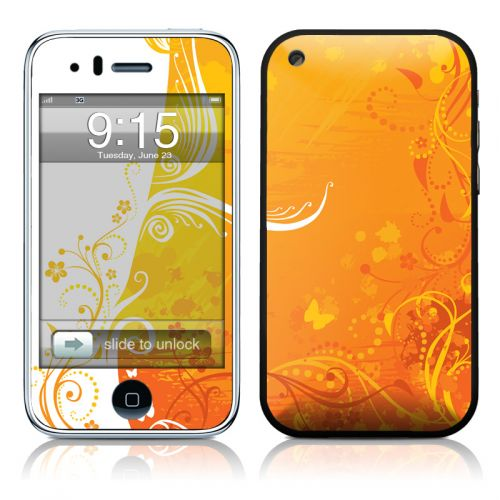 Orange Crush iPhone 3GS Skin