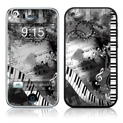 Piano Pizazz iPhone 3GS Skin