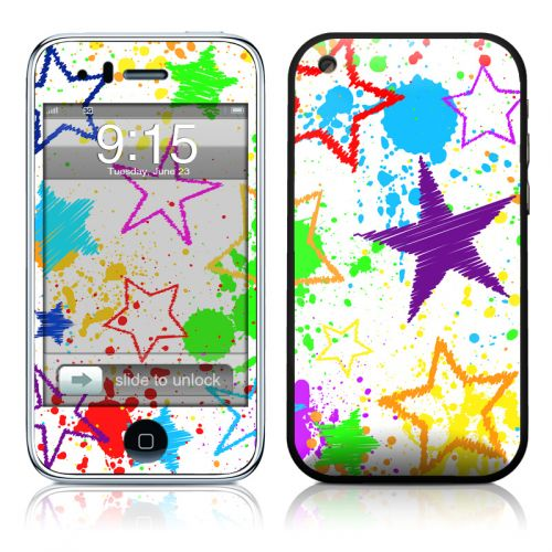 Scribbles iPhone 3GS Skin