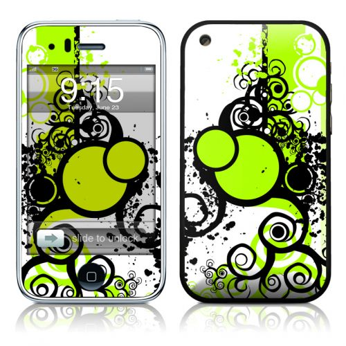 Simply Green iPhone 3GS Skin