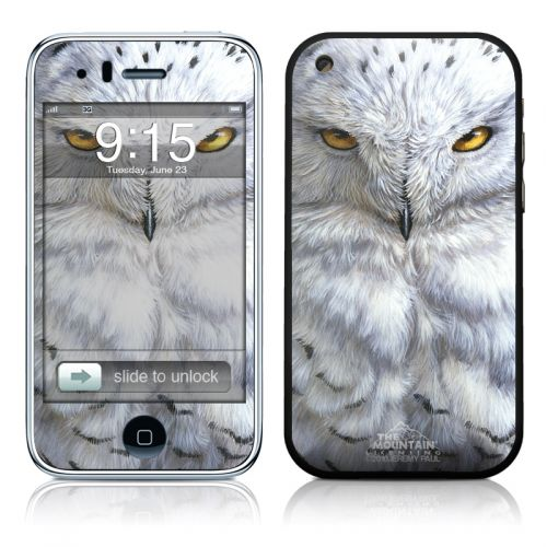 Snowy Owl iPhone 3GS Skin
