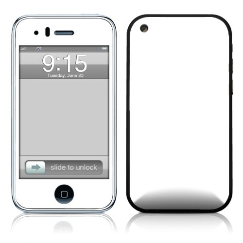 Solid State White iPhone 3GS Skin