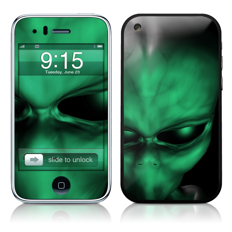 Abduction iPhone 3GS Skin