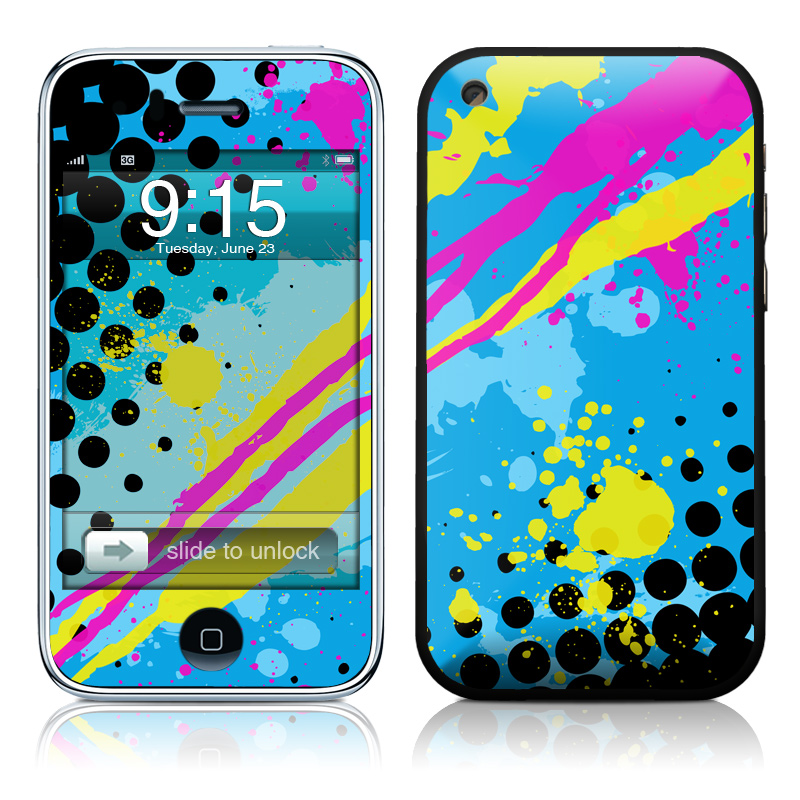 Acid iPhone 3GS Skin
