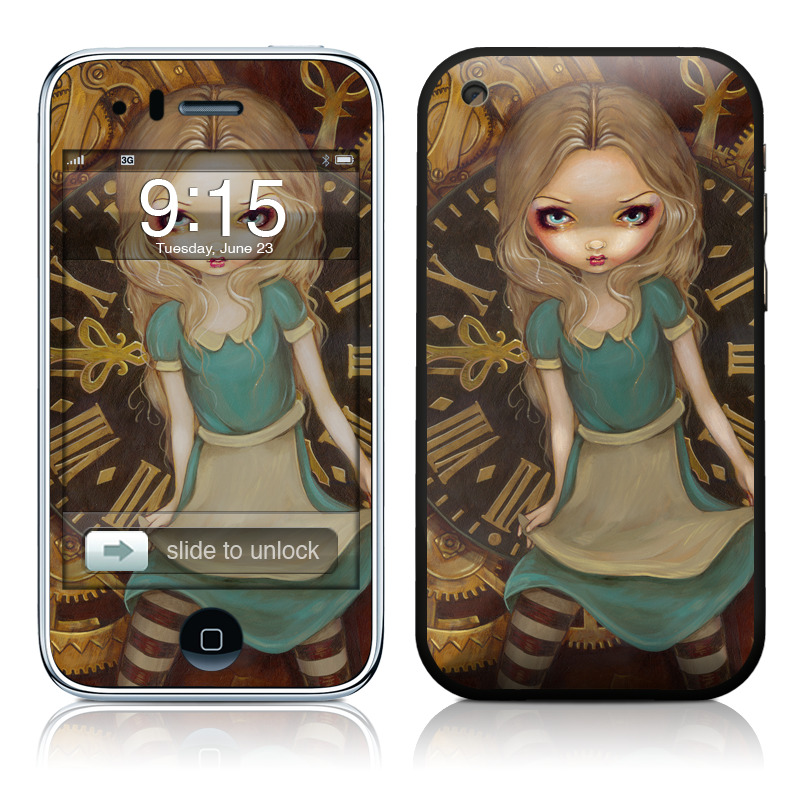 Alice Clockwork iPhone 3GS Skin