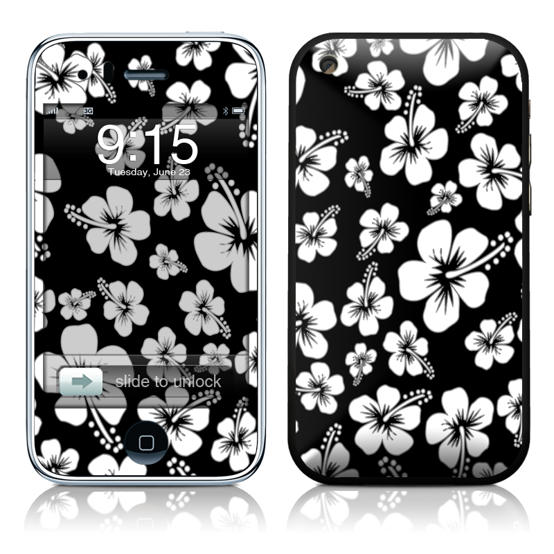Aloha Black iPhone 3GS Skin