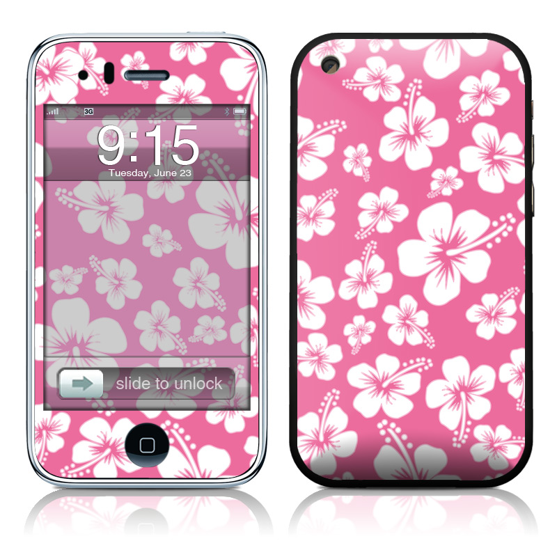 Aloha Pink iPhone 3GS Skin