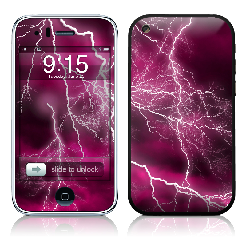 Apocalypse Pink iPhone 3GS Skin