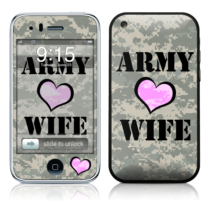Army Wife iPhone 3GS Skin