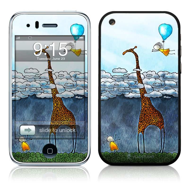 Above The Clouds iPhone 3GS Skin
