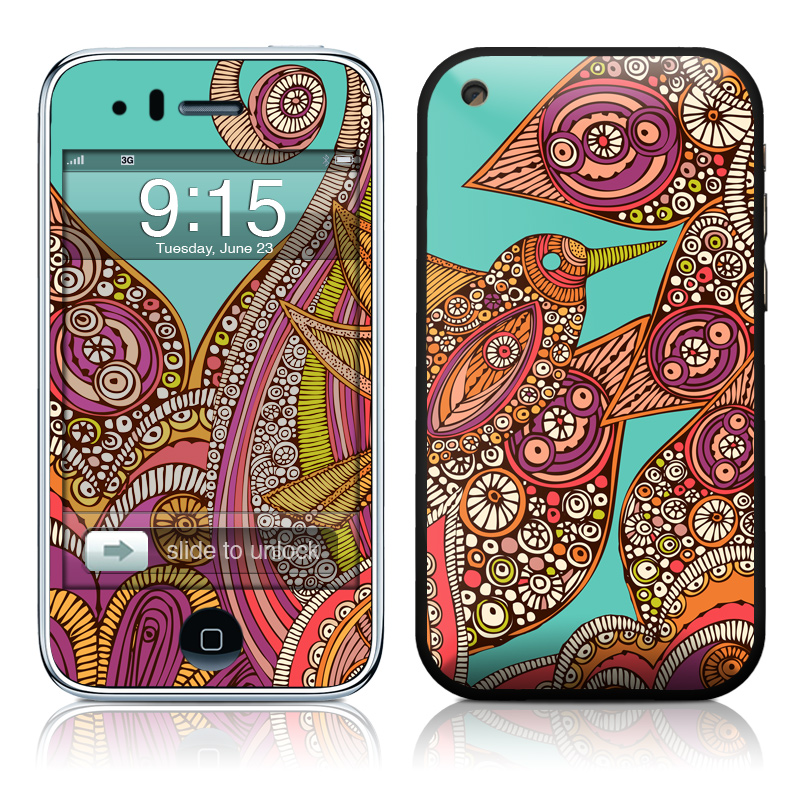 Bird In Paradise iPhone 3GS Skin