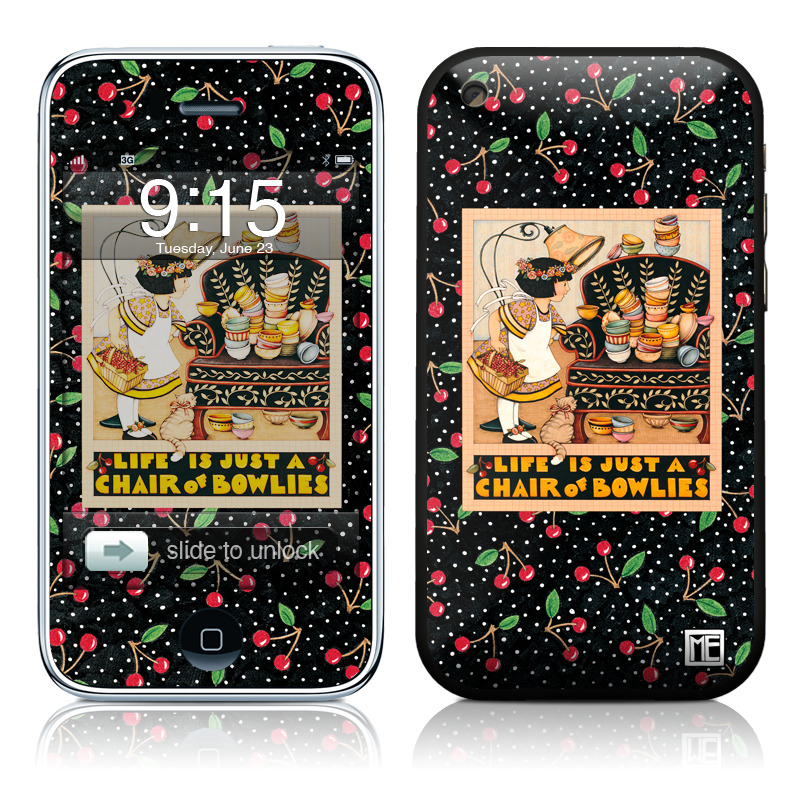 Chair of Bowlies iPhone 3GS Skin