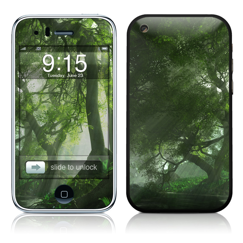 Canopy Creek Spring iPhone 3GS Skin