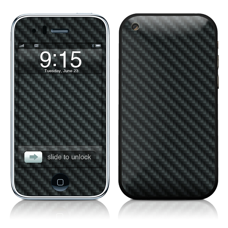 iPhone 3GS Skin design of Green, Black, Blue, Pattern, Turquoise, Carbon, Textile, Metal, Mesh, Woven fabric with black colors