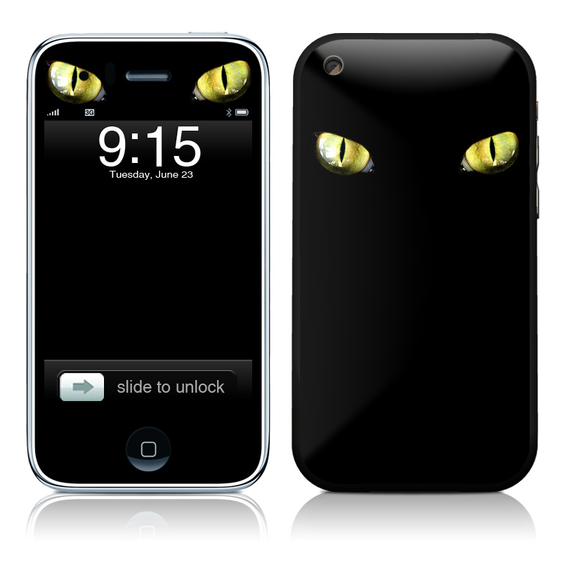 Cat Eyes iPhone 3GS Skin