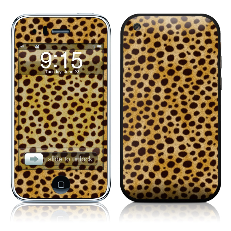 Cheetah iPhone 3GS Skin