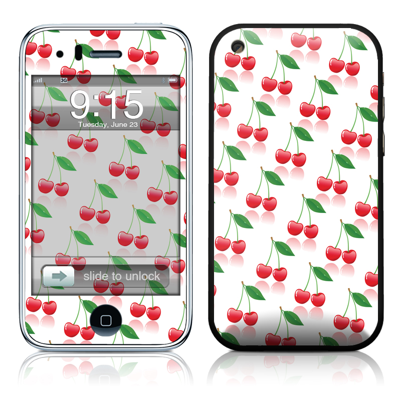 Cherry iPhone 3GS Skin