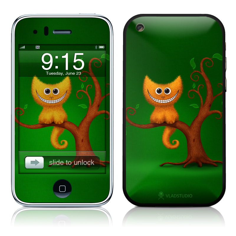 Cheshire Kitten iPhone 3GS Skin