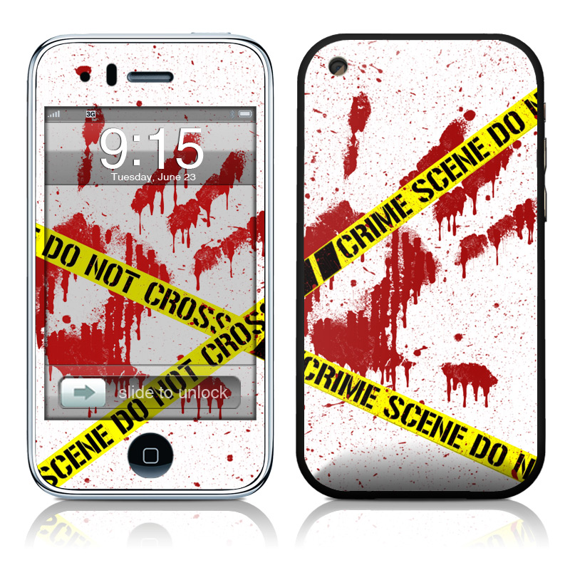 Crime Scene Revisited iPhone 3GS Skin