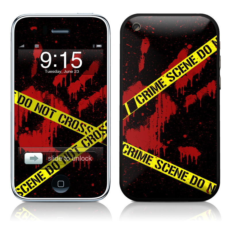Crime Scene iPhone 3GS Skin