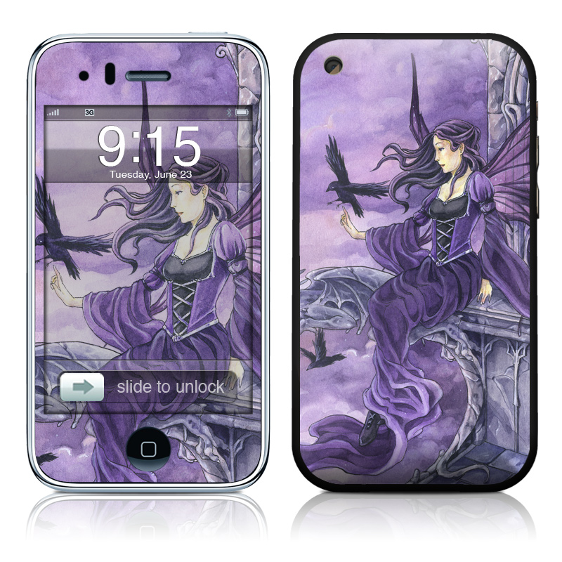 Dark Wings iPhone 3GS Skin