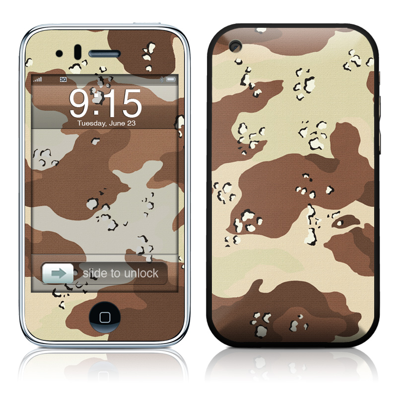 iPhone 3GS Skin design of Military camouflage, Brown, Pattern, Design, Camouflage, Textile, Beige, Illustration, Uniform, Metal with gray, red, black, green colors